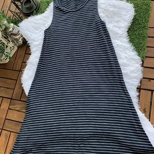 Madewell Dress Highpoint Stripe Tank Shift S A2